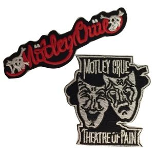 Other - Motley Crue Patches, Iron On, Rock Band, DIY